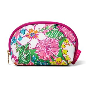 Lilly Pulitzer Nosey Posie  mini cosmetic bag NWT